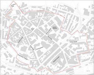 Gebietsabgrenzung ISEK Euskirchen Innenstadt